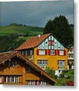 Appenzell Famous Windows Metal Print