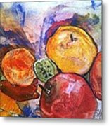Appetite For Color Metal Print by Sherry Harradence
