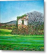 Appia Antica, House, 2008 Metal Print