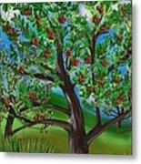 Apple Acres Metal Print