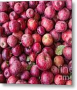 Apple Background Metal Print