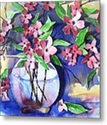 Apple Blossoms Metal Print by Sherry Harradence