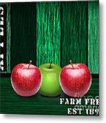 Apple Farm Metal Print