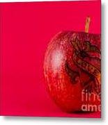 Apple Love From Tattoo Series Metal Print
