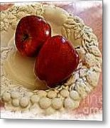 Apple Still Life 3 Metal Print