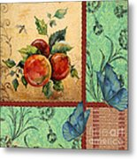 Apple Tapestry-jp2203 Metal Print
