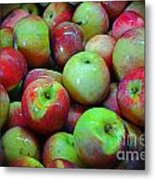 Apples Apples And More Apples Metal Print