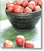 Apples On The Table  Metal Print