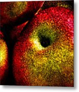 Apples Two Metal Print by Bob Orsillo