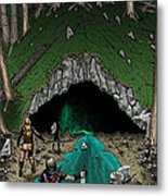Approach To The Kobold Caves Metal Print