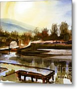 Approaching Dusk IIb Metal Print by Kip DeVore