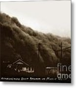 Approaching Dust Storm In Middle West By Frank D. Conard Circa 1938 Metal Print