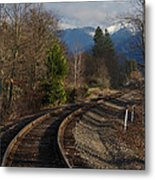 Approaching Grants Pass 1 Metal Print