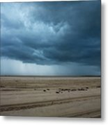 Approaching Storm - Outer Banks Metal Print
