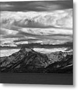 Approaching Storm Over Lake Tahoe Metal Print