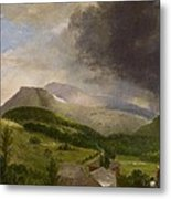 Approaching Storm  White Mountains Metal Print