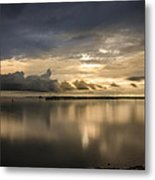 Approaching The Golden Hour Metal Print