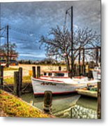 April Dawn Poquoson Virginia Metal Print