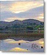 April In Donegal - Lough Eske Metal Print