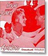 April Love Metal Print