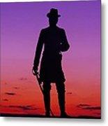 April Sunset In Gettysburg Metal Print
