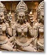 Apsara - Angkor Wat Metal Print