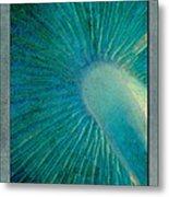 Aqua Gills Metal Print