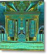 Aqua House 2 Metal Print