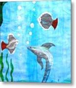 Aqua Life Metal Print
