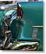 Aqua Marine Blue Chevy Metal Print