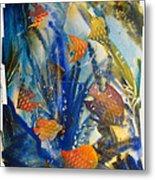 Aquarium 2 Archived Work Metal Print by Charlie Spear