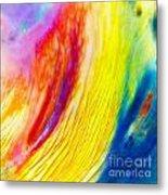 Arabian Desert Rainbow Metal Print