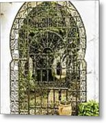 Arabian Door Metal Print