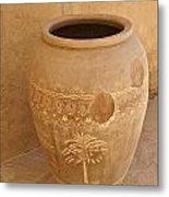 Arabian Pottery Metal Print