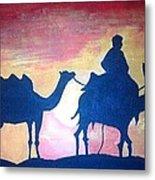 Arabian Sands Metal Print