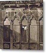 Arabian Windows, In Campo Santa Maria Metal Print