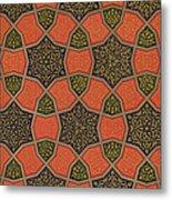Arabic Decorative Design Metal Print