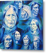 Arapaho Leaders Metal Print