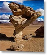 Arbol De Piedra Select Focus Metal Print