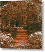 Arbor Steps Metal Print