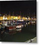 Arbroath Harbour Metal Print