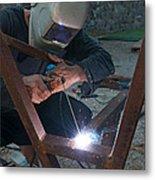 Arc Welder Metal Print