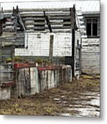 Arcadia Florida State Livestock Market I Poster Look Metal Print