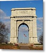 Arch At Valley Forge Metal Print