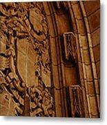 Arch Details Metal Print