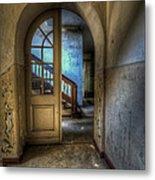 Arch Door Metal Print