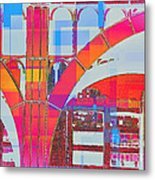 Arch Five  - Architecture Of New York City Metal Print