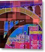 Arch One - Architecture Of New York City Metal Print