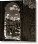 Arch Of Constantine From The Colosseum Metal Print