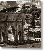 Arch Of Contantine Metal Print